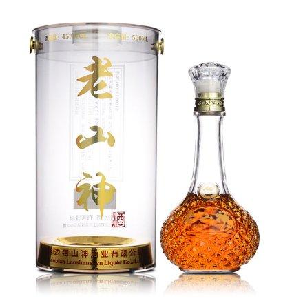 45°老山神营养养生酒(中国红典藏)500ml