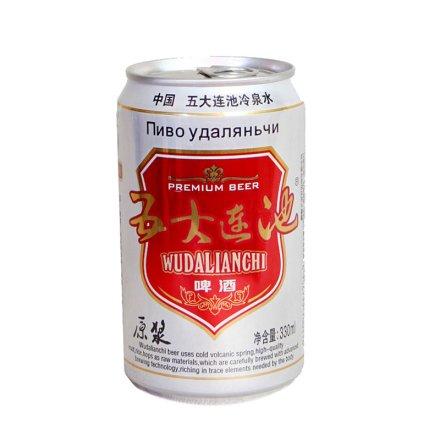 五大连池啤酒330ml