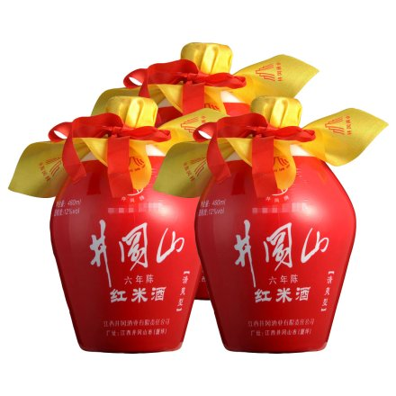 12°井冈山红米酒460ml(3瓶装)