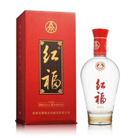 52°五粮液生态红福酒500ml