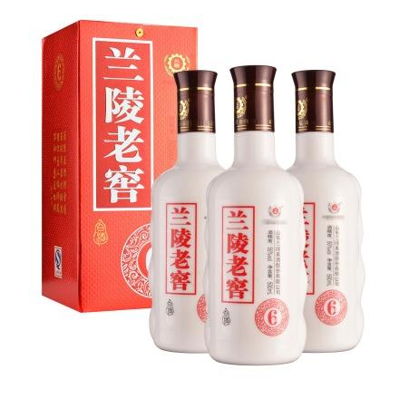 50°兰陵老窖500ml(3瓶装)