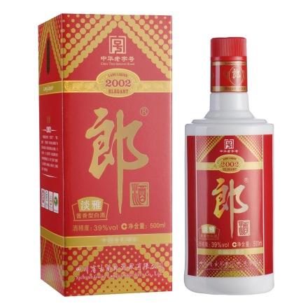 39°老郎酒2002 500ml