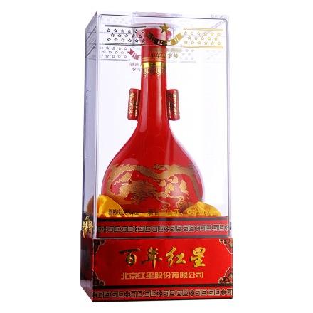 38°红星红花瓷500ml
