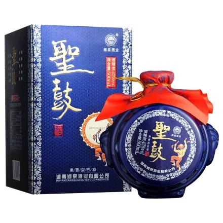 42°湖南湘泉酒业(蓝)圣鼓酒500ml(乐享)