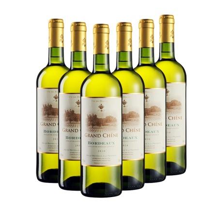 法国卡玛隆波尔多白葡萄酒2010年750ml(6瓶装)