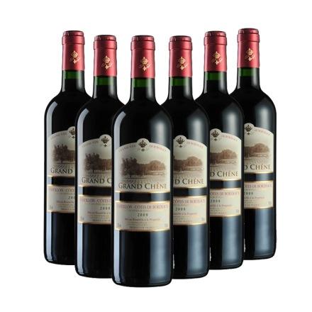 法国卡玛隆经典干红葡萄酒2008年750ml(6瓶装)