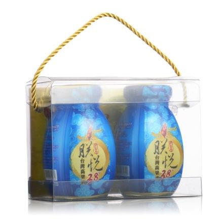 38°宝岛美朕悦台湾高粱酒120ml(双瓶)礼盒