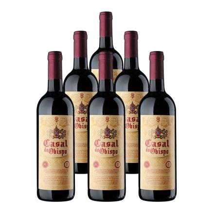 西班牙卡萨尔教皇半甜红葡萄酒(6瓶装)