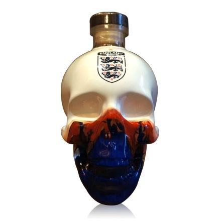 40°水晶头骨伏特加世界杯手绘限量版(英格兰队)750ml