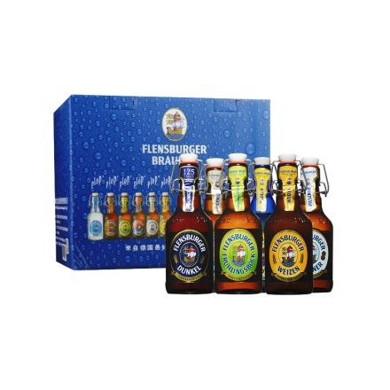 德国弗伦斯堡啤酒—六支装礼盒(330ml*6)