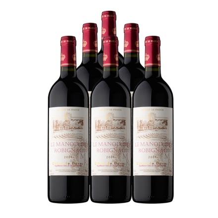法国诺贝纳庄园干红葡萄酒750ml(6瓶装)