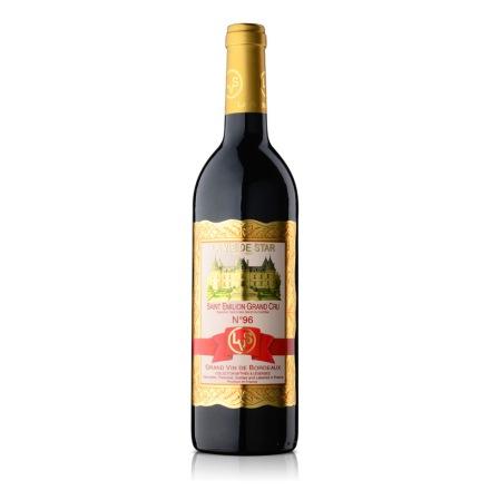 法国拉维之星96号圣艾米利永特级酒园红葡萄酒750ml