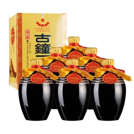 46°红星古钟二锅头酒500ml(6瓶装)