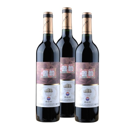 茅台国韵干红葡萄酒(3瓶装)