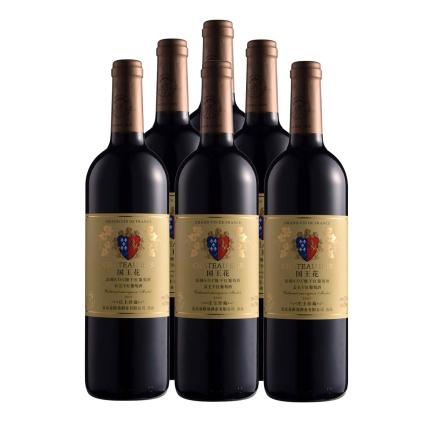 12.5°国王花公主干红葡萄酒2005 750ml(6瓶装)