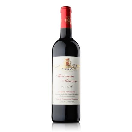 法国天使之恋干红葡萄酒750ml(乐享)