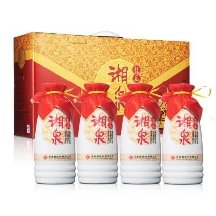 50°龙凤湘泉475ml(1*4礼盒装)