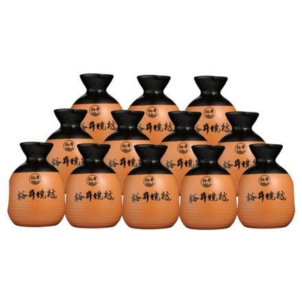 38°裕井烧坊小酒篓250ml(12瓶装)