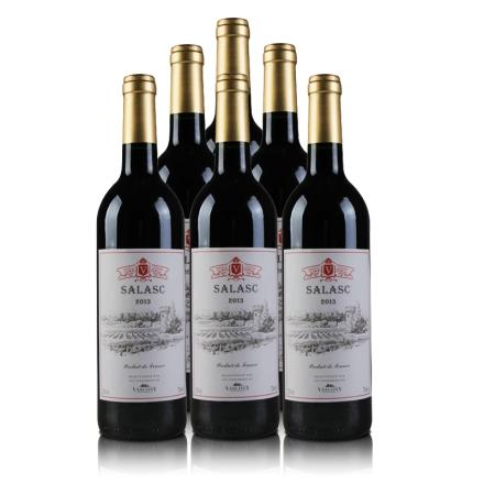 法国萨拉斯干红葡萄酒(6瓶装)