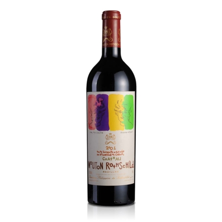 法国木桐酒庄2001干红葡萄酒750ml