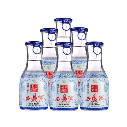 45°西凤酒来一杯180ml(6瓶装)