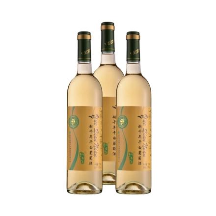 11.5°中国越千年干白葡萄酒750ml(乐享)(3瓶装)