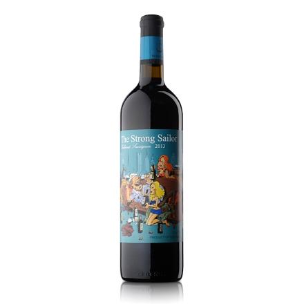 【清仓】12.5°澳洲詹姆士漂客水手2013赤霞珠干红葡萄酒 绿标750ml