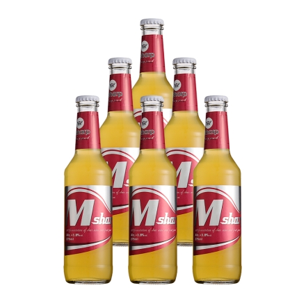 3.8°Msharp米锐(米之清预调酒-蜜桃味) 275ml(6瓶装)