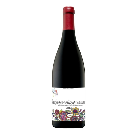【清仓】法国博若莱新酒 村庄 缤纷之花干红葡萄酒750ml (空运版)