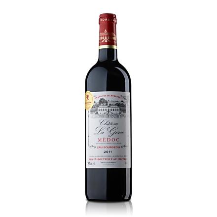 法国原瓶进口中级庄葛斯城堡干红葡萄酒750ml
