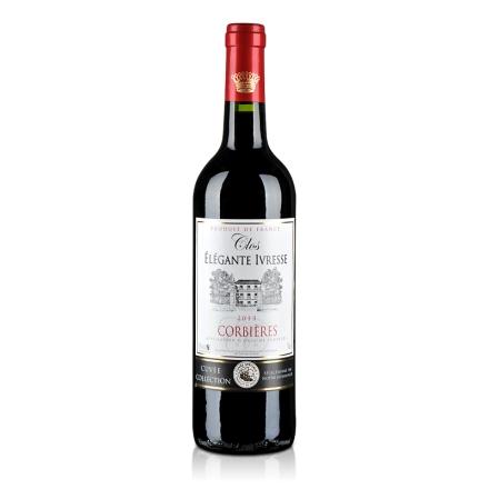 法国克罗雅酒庄特酿红葡萄酒750ml