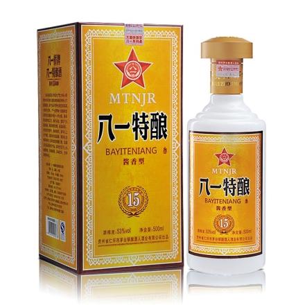 【清仓】53°八一酱香特酿优级500ml
