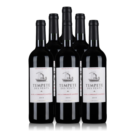 法国风之樽干红葡萄酒750ml(6瓶装)