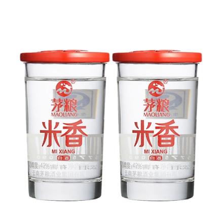 42°茅粮米香50ml(乐享)(双瓶装)