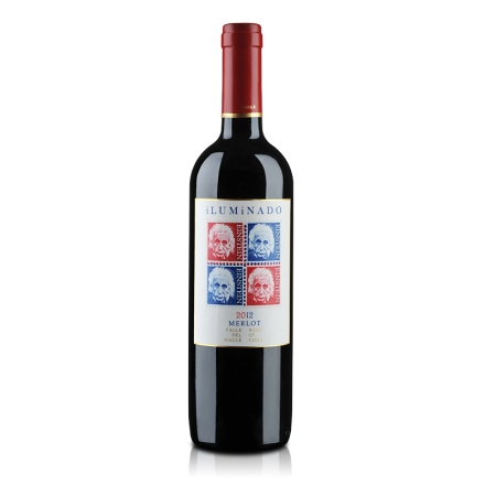 智利伊鲁米纳多干红葡萄酒750ml