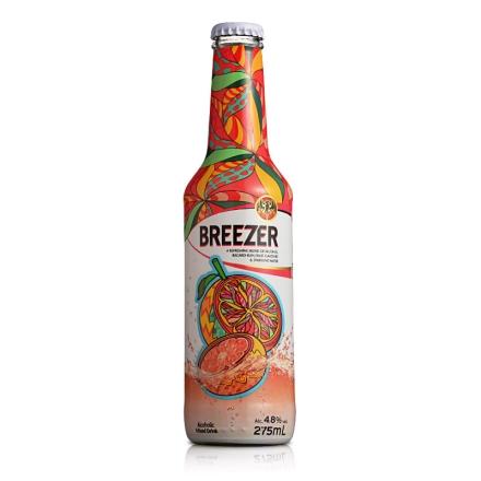 4.8°百加得冰锐假日瓶版-葡萄柚味275ml