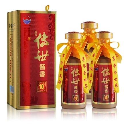 53°茅台镇黔国酱香(10)500ml(3瓶装)