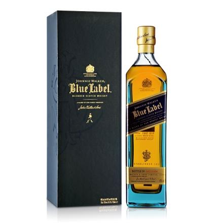 40°英国尊尼获加蓝方威士忌750ml