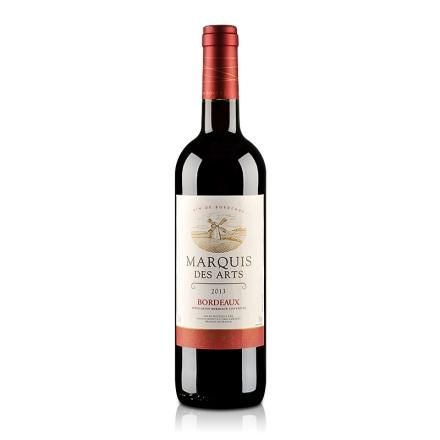 法国波尔多AOC美意爵干红葡萄酒750ml
