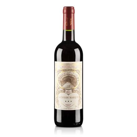 (清仓)法国罗纳河谷男爵窖藏精品2011干红葡萄酒