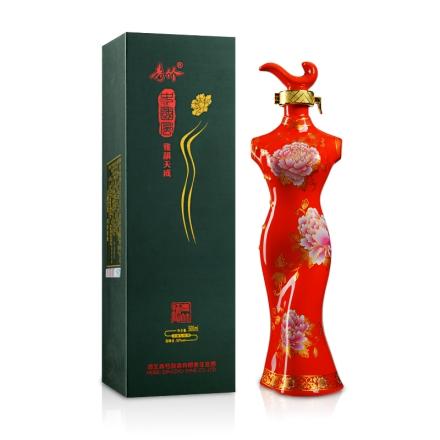 【清仓】52°青竹中国风-雅韵天成(红)500ml