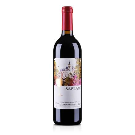 法国西夫拉姆油画20年干红葡萄酒750ml
