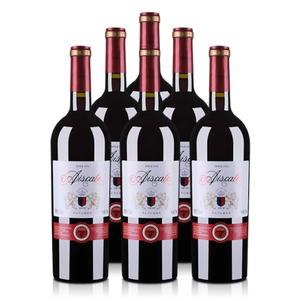 12°艾斯卡特酒庄干红葡萄酒750ml(6瓶装)