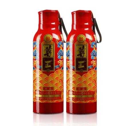 41.8°泸州老窖尊王珍品500ml(双瓶装)