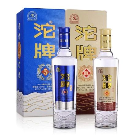 42°沱牌岁月酒(五)500ml+42°沱牌岁月酒陈酒500ml