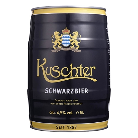 德国库斯特黑啤酒5L
