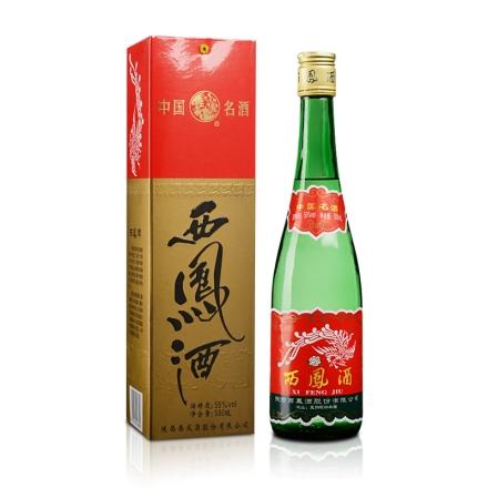 55°西凤酒绿瓶500ml