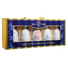 【清仓】53°汾酒集团千秋老酒(唐宋元明清)礼盒245ml*5