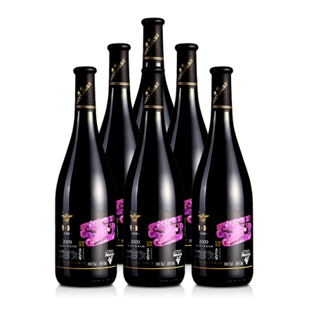 澜爵珍藏版蛇龙珠干红葡萄酒(6瓶装)