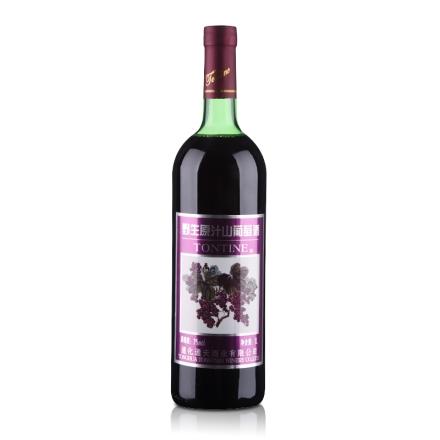 中国通天野生原汁山葡萄酒1000ml